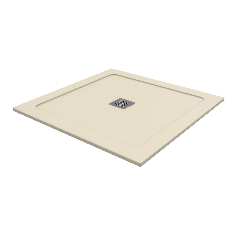 receveur de douche carr x cm pierre beige osaka2 leroy merlin. Black Bedroom Furniture Sets. Home Design Ideas