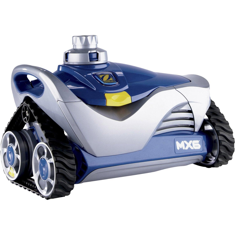 Robot de nettoyage hydraulique aspiration zodiac mx6 for Robot de nettoyage