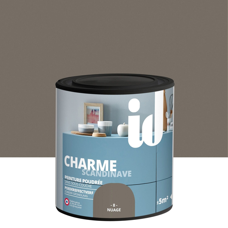 peinture pour meuble objet et porte poudr id charme nuage 0 5 l leroy merlin. Black Bedroom Furniture Sets. Home Design Ideas