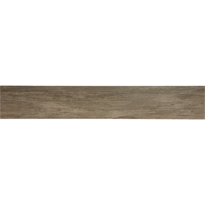 Carrelage chalet artens en gr s c rame teint masse ch ne weng 20x120 cm leroy merlin - Houten chalet leroy merlin ...