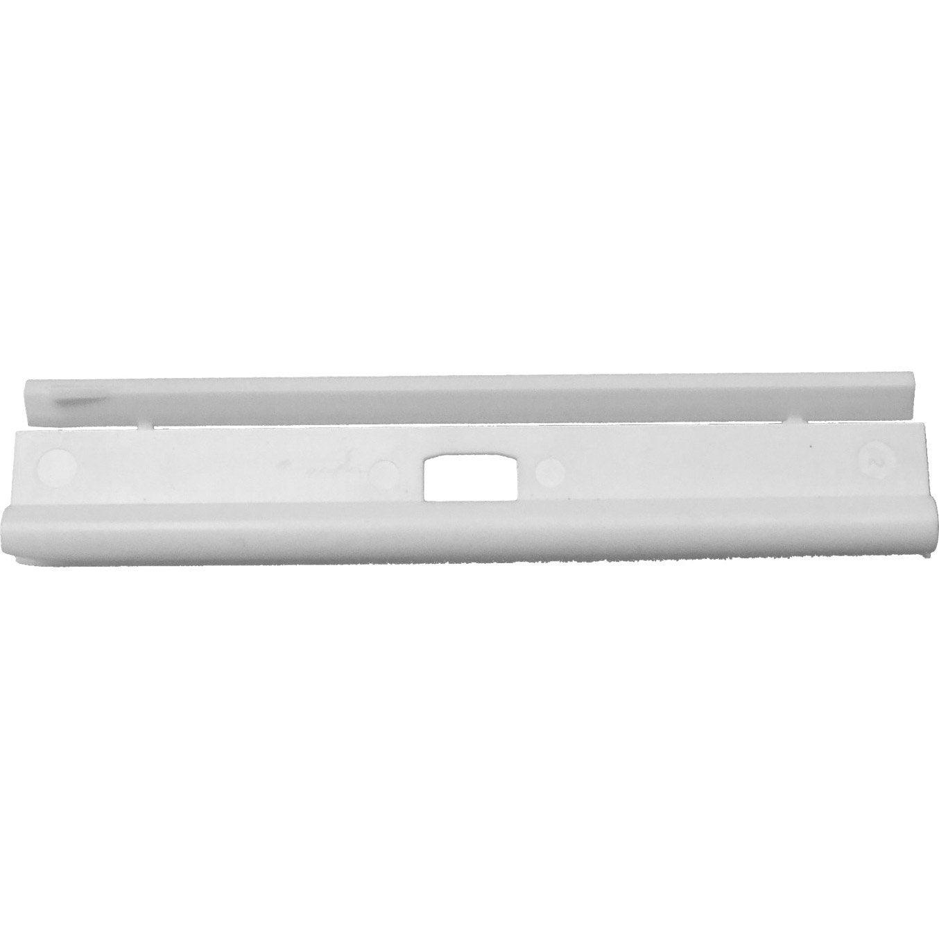 Lot 5 de barrettes hautes pour bandes verticales de store for Store vertical exterieur leroy merlin
