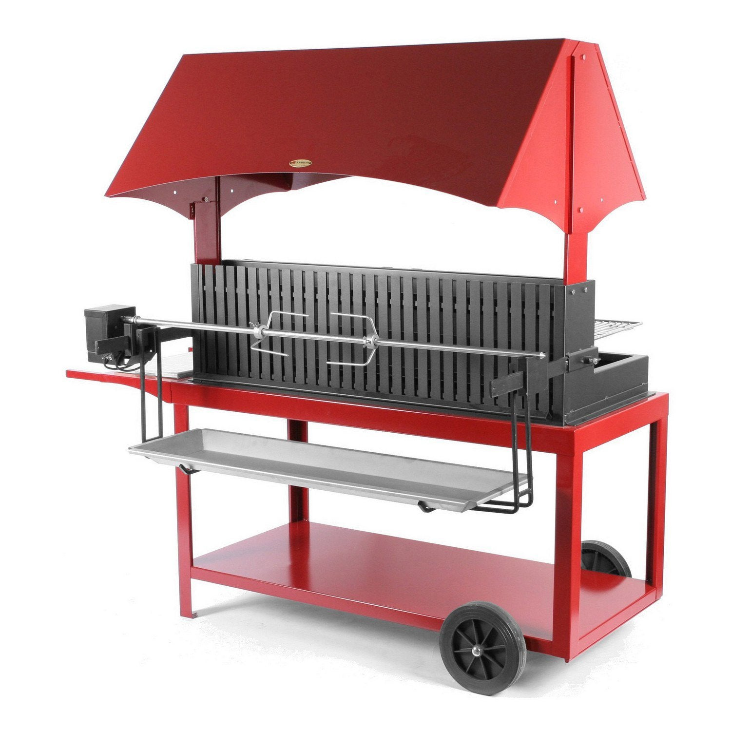Barbecue au charbon de bois lemarquier mechoui leroy merlin for Barbecue exterieur leroy merlin