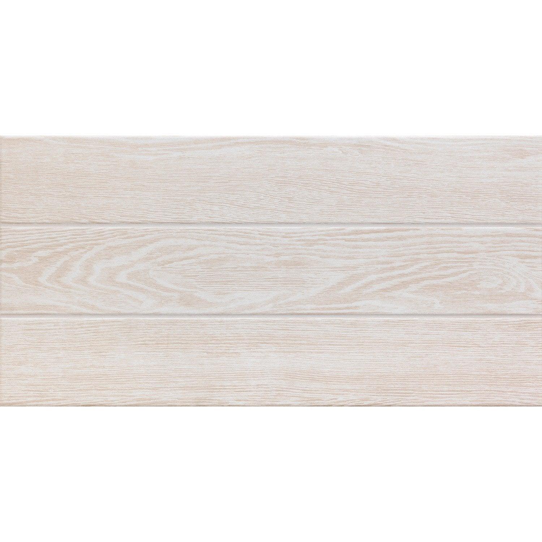 Carrelage Sol Et Mur Blanc Calcaire 1 Effet Bois Avoriaz L