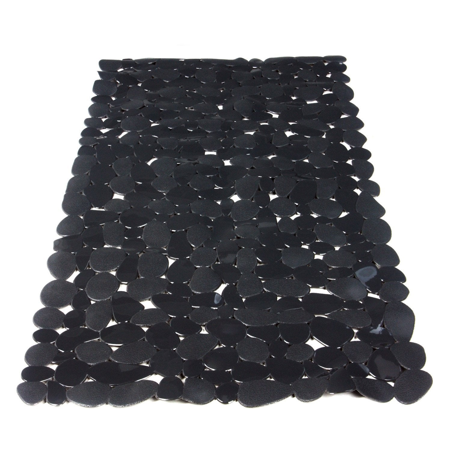 tapis antid rapant gris pour baignoire stone sensea leroy merlin. Black Bedroom Furniture Sets. Home Design Ideas
