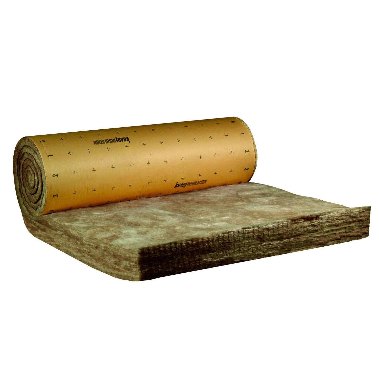 rouleau de laine de verre mm r 7 knauf insulation leroy merlin. Black Bedroom Furniture Sets. Home Design Ideas