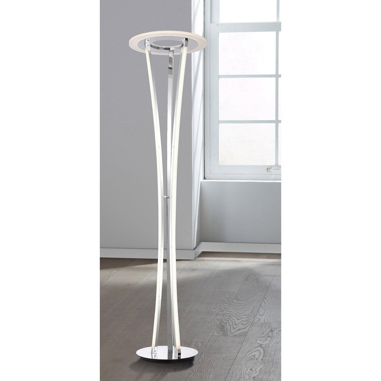 lampadaire led seattle wofi 180 cm 110 w leroy merlin. Black Bedroom Furniture Sets. Home Design Ideas