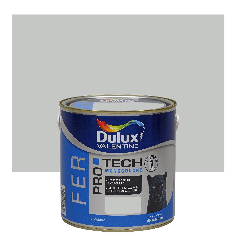 Peinture gris clair avec leroy merlin brico depot for Peinture dulux valentine gris