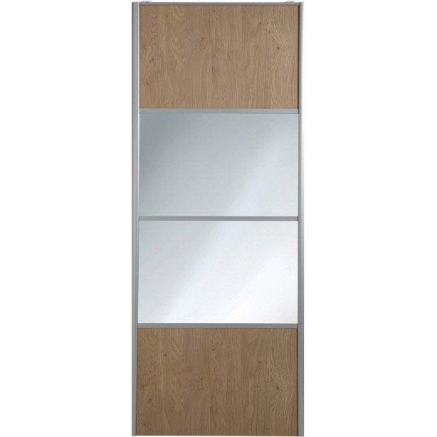 Porte miroir coulissante leroy merlin maison design for Miroir de porte a suspendre
