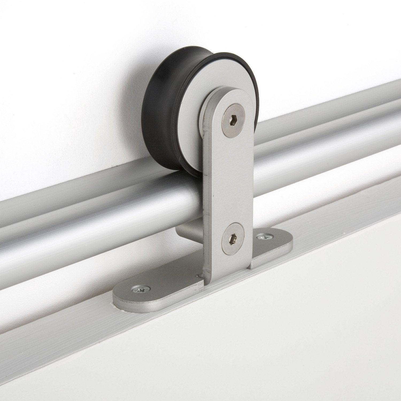 Rail coulissant pour porte en verre id es de conception son - Double rail coulissant ...