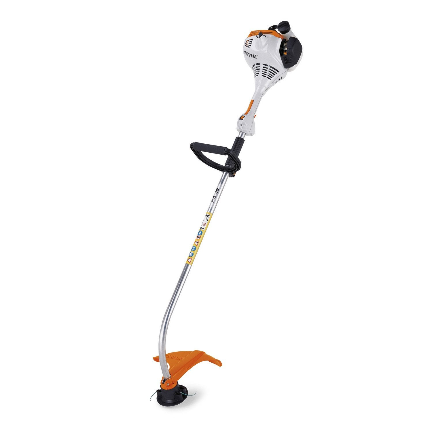 coupe bordures essence stihl fs 38 27 2 cm cm leroy merlin. Black Bedroom Furniture Sets. Home Design Ideas