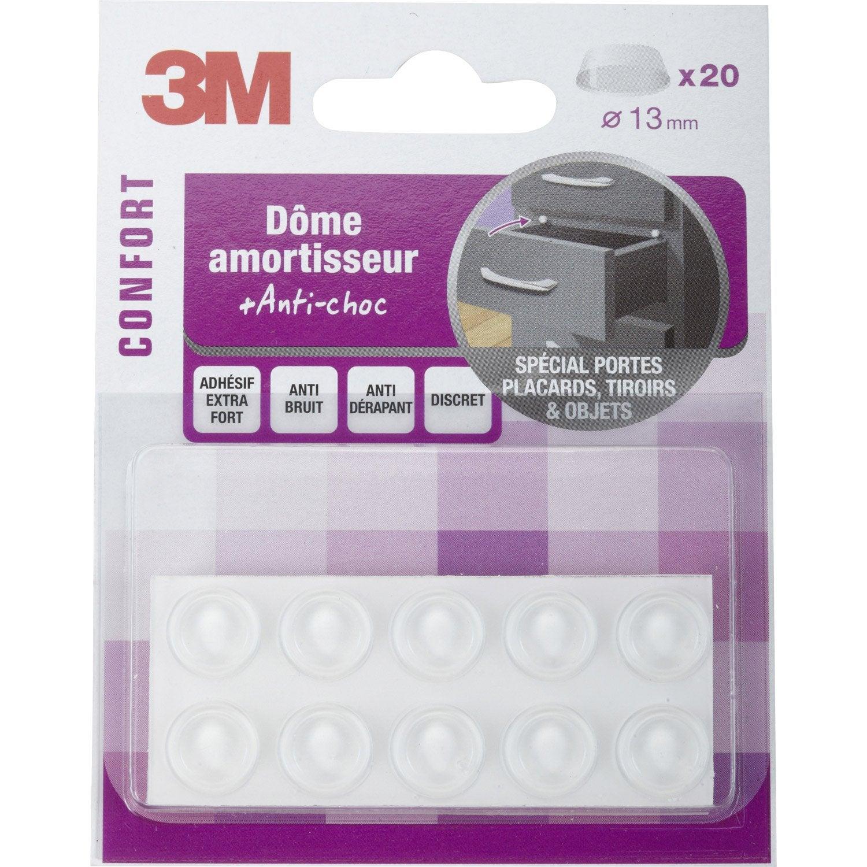 20 amortisseurs anti bruit adhesifs en plastique diam 13 - Cloture anti bruit leroy merlin ...