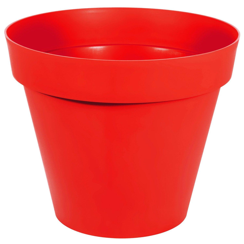pot r serve d 39 eau en polypropyl ne eda diam 100 x haut 79 5 cm tomate leroy merlin. Black Bedroom Furniture Sets. Home Design Ideas