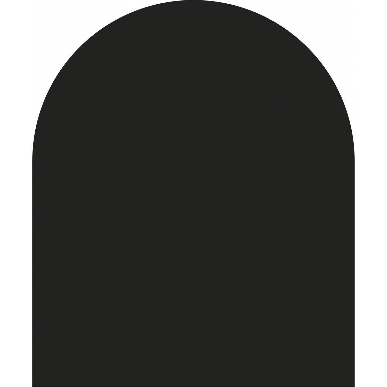 plaque de sol acier noir givr 100 x 120 cm leroy merlin. Black Bedroom Furniture Sets. Home Design Ideas