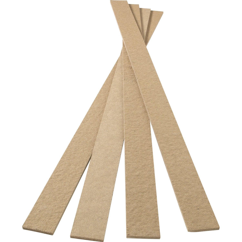 isobande fibres dures ep 8 mm x x l 7 cm leroy merlin. Black Bedroom Furniture Sets. Home Design Ideas