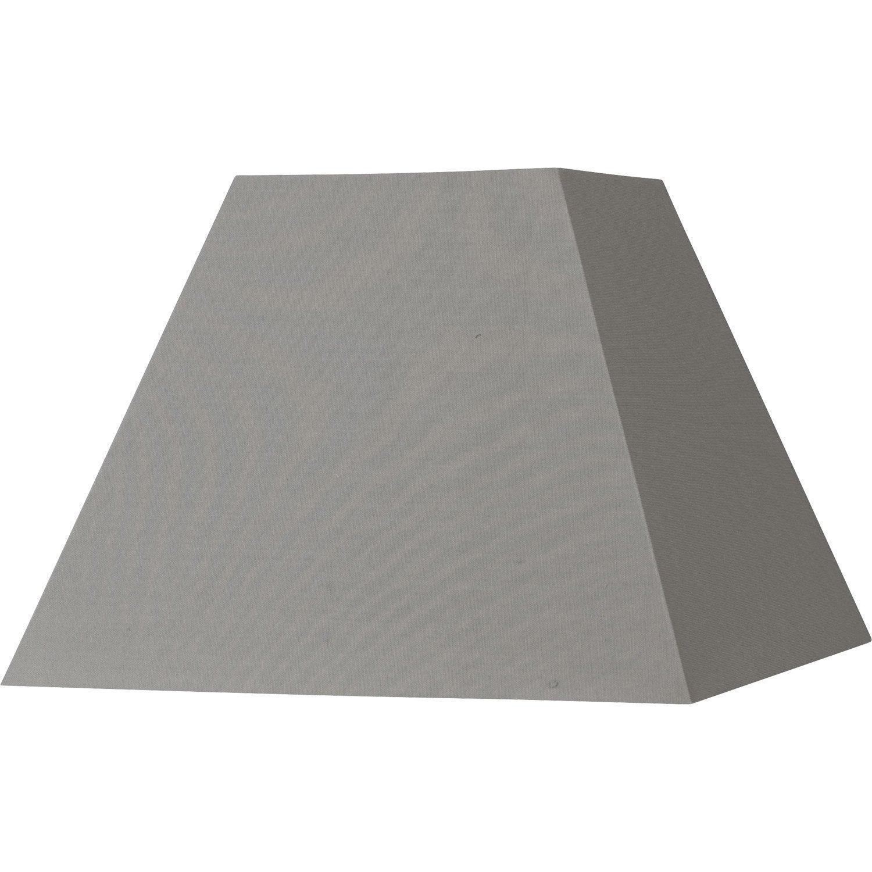 abat jour sweet 42 cm coton ciment leroy merlin. Black Bedroom Furniture Sets. Home Design Ideas