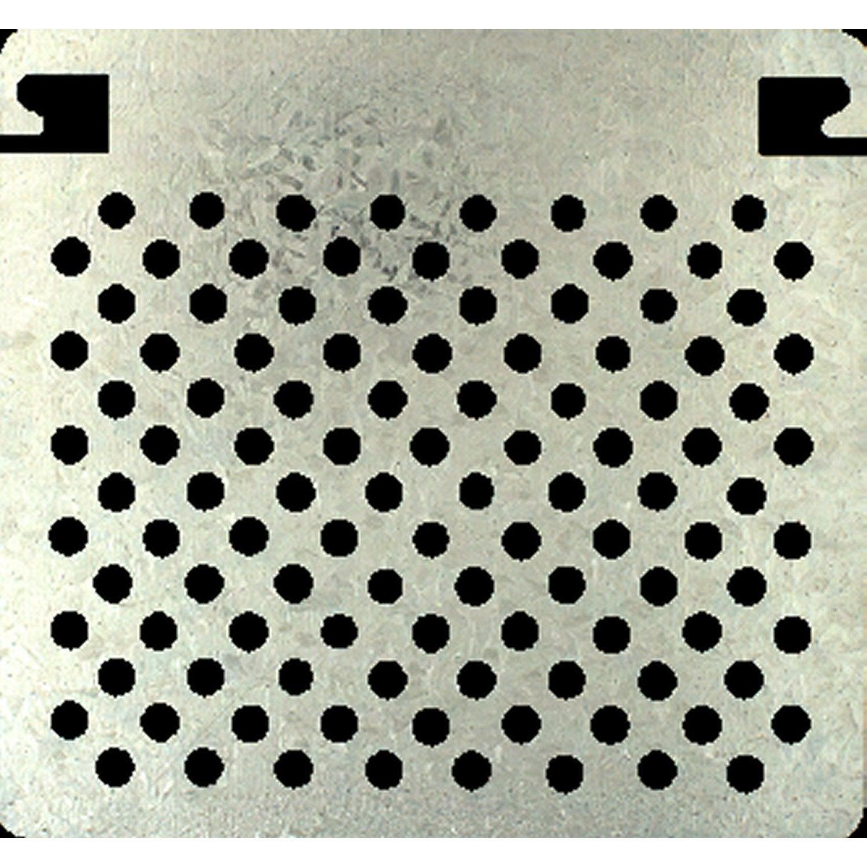 grille metallique pour bac roul 250mm leroy merlin. Black Bedroom Furniture Sets. Home Design Ideas