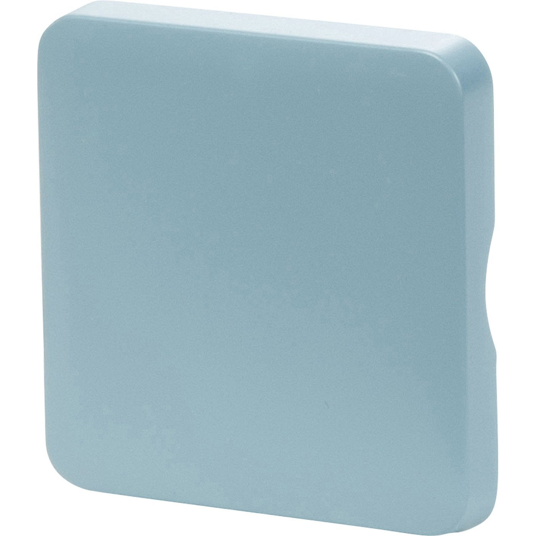 Cache commande d 39 clairage cosy lexman bleu baltique n 3 mat leroy merlin - Cache clim leroy merlin ...