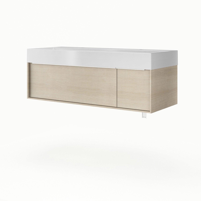 meuble vasque 120 cm neo frame leroy merlin. Black Bedroom Furniture Sets. Home Design Ideas
