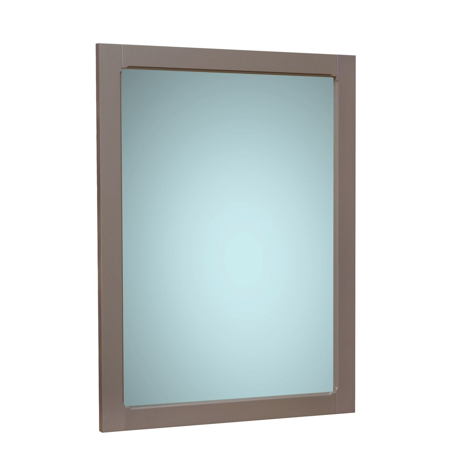 Miroir l 81 cm sensea ashley leroy merlin for Pose miroir salle de bain