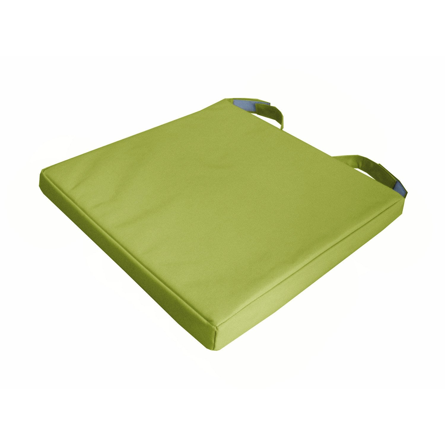 Galette de chaise plastifiee for Galette de chaise rectangulaire