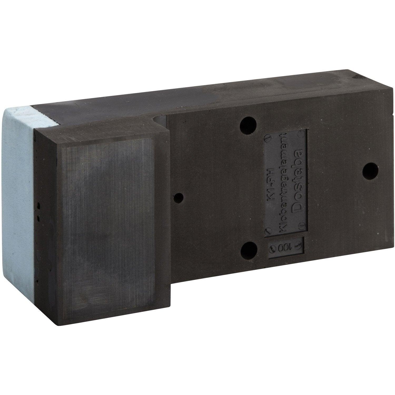 syst me de fixation ite k1 ph 280x125mm ep 100mm leroy merlin. Black Bedroom Furniture Sets. Home Design Ideas