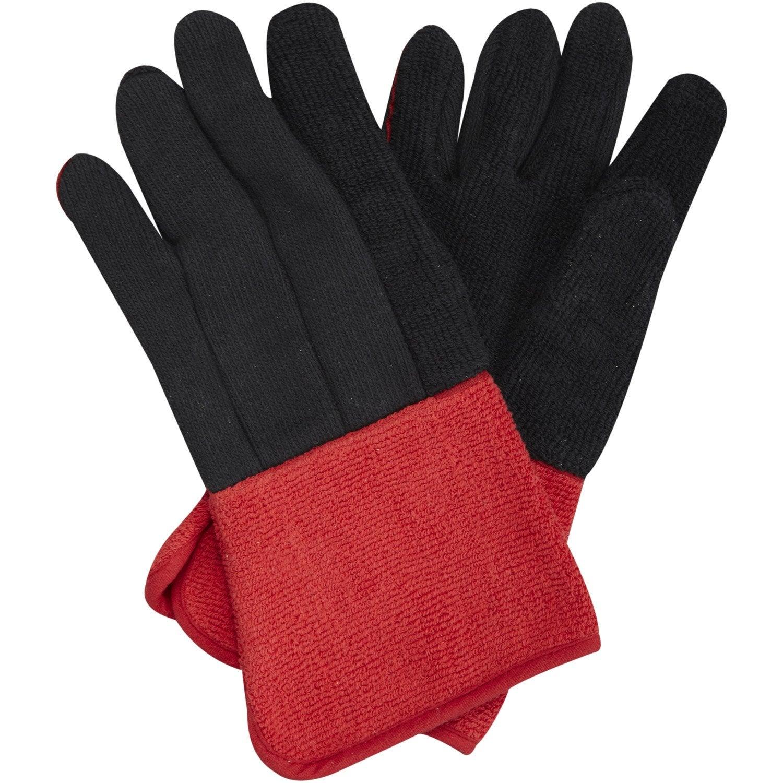 gants pour barbecue vert taille 9 l leroy merlin. Black Bedroom Furniture Sets. Home Design Ideas
