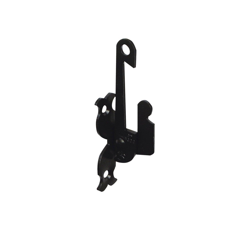 support d 39 espagnolette visser en acier pour volets battants haut 13 cm leroy merlin. Black Bedroom Furniture Sets. Home Design Ideas