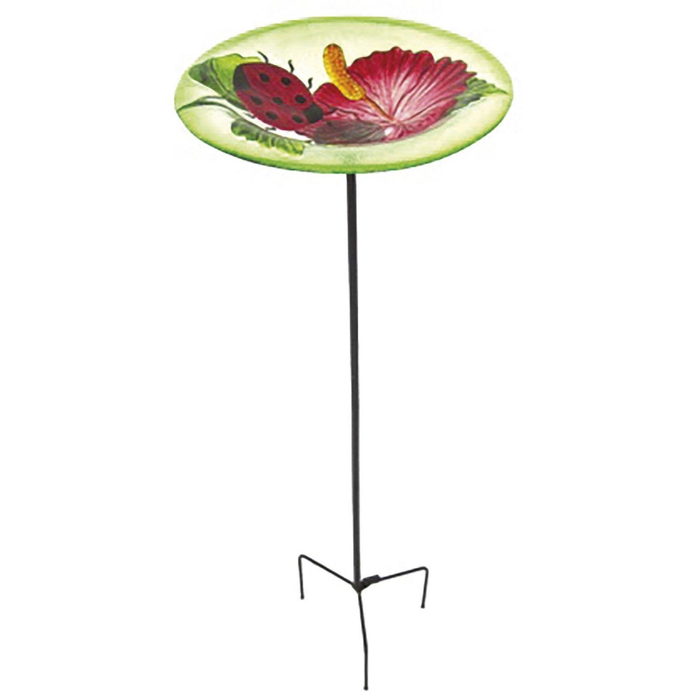 baignoire pour oiseaux pfbaiver acier et p te de verre leroy merlin. Black Bedroom Furniture Sets. Home Design Ideas