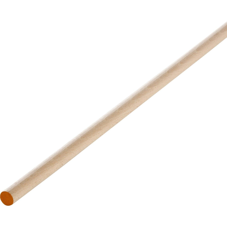 Tourillon h u00eatre arrondie sans noeud, 18 x 18 mm, L 1 m Leroy Merlin # Bois Rond Leroy Merlin