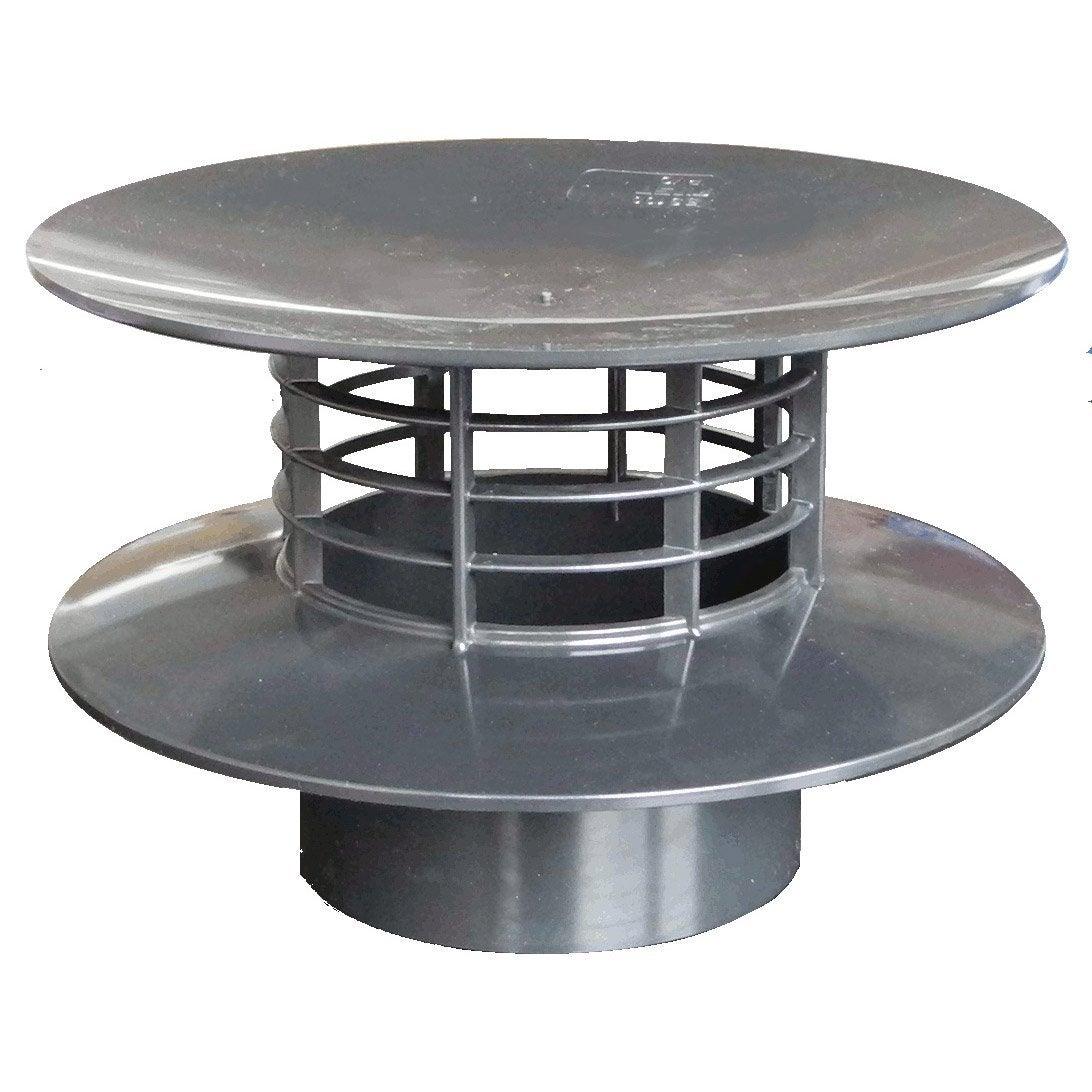 extracteur statique pvc gris ardoise first plast. Black Bedroom Furniture Sets. Home Design Ideas