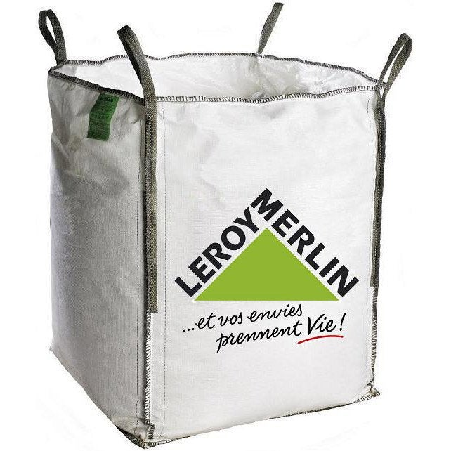 Sac gravats big bag 1m3 leroy merlin - Prix sac ciment leroy merlin ...