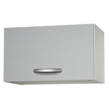 Meuble De Cuisine Haut 1 Porte Gris Aluminium H35 X L60