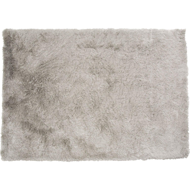 tapis shaggy zelia argent 170x120 cm leroy merlin. Black Bedroom Furniture Sets. Home Design Ideas