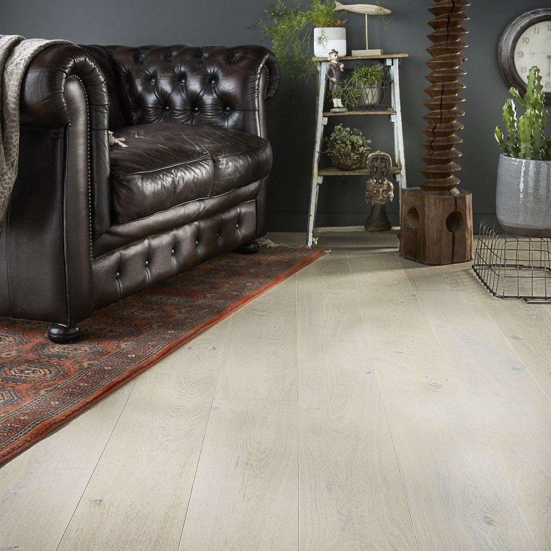 parquet contrecoll ch ne plume huil xxl long artens line leroy merlin. Black Bedroom Furniture Sets. Home Design Ideas