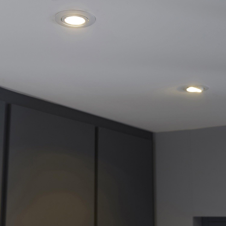 Kit 3 spots à encastrer Bama orientable led INSPIRE GU10 ...