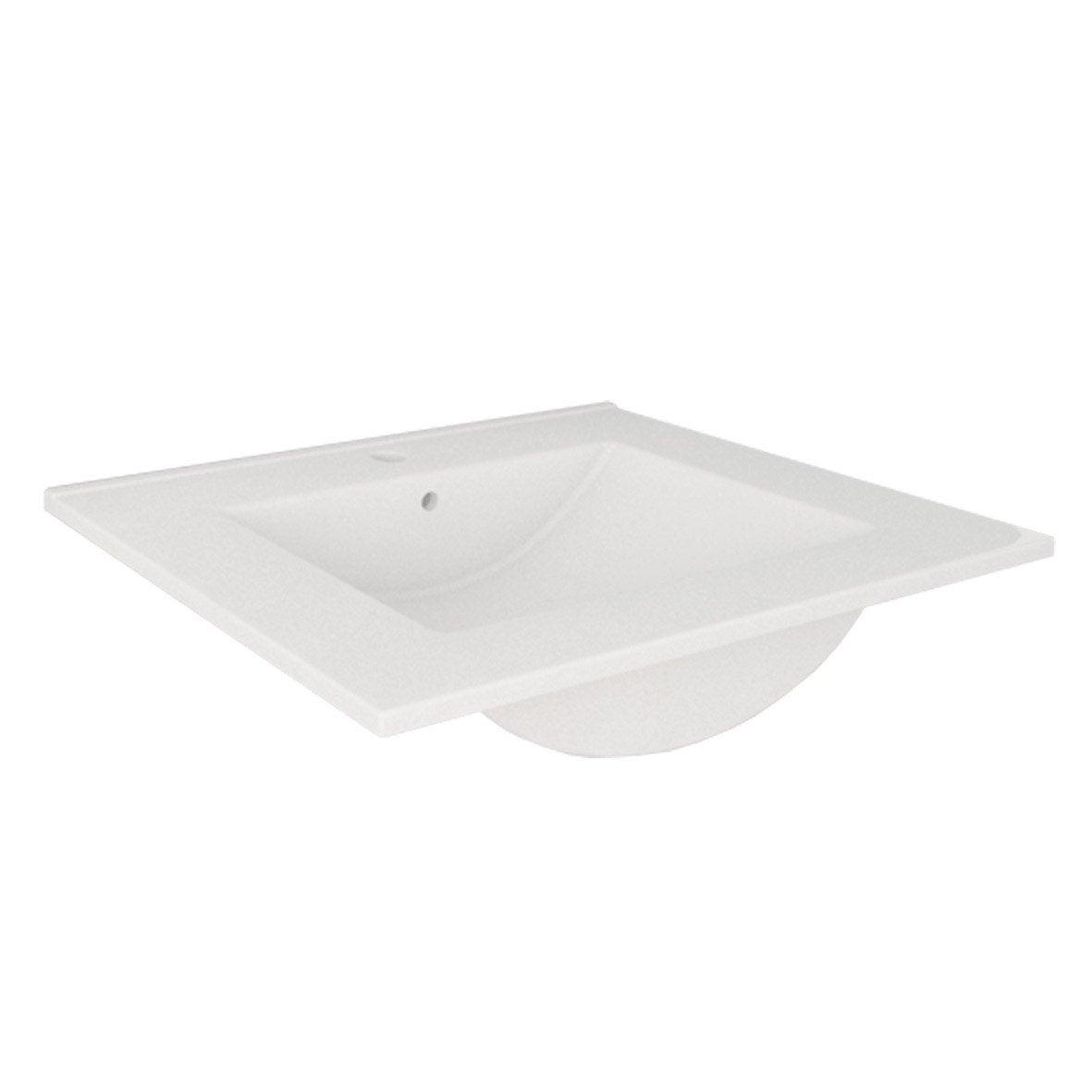 plan vasque simple carla 70 cm leroy merlin. Black Bedroom Furniture Sets. Home Design Ideas