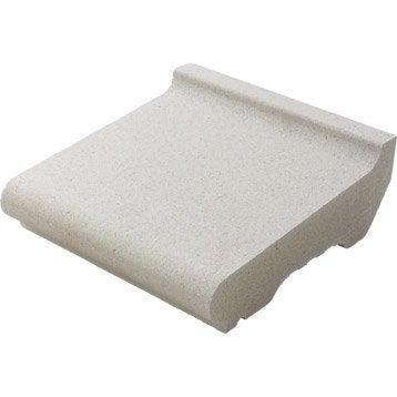 Appui de fen tre 33 x 35 cm blanc cass leroy merlin for Peinture appui de fenetre leroy merlin