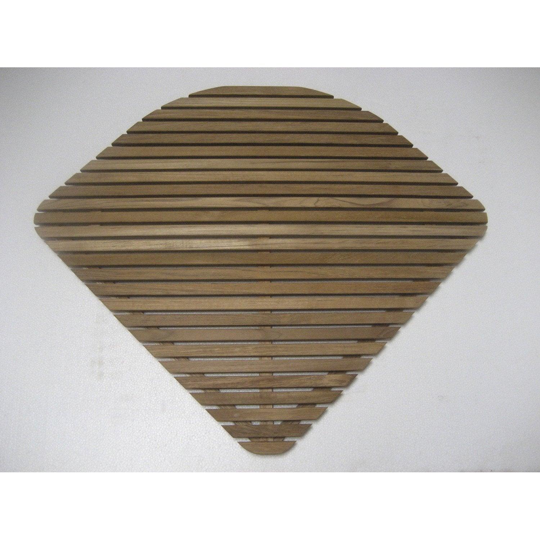 caillebotis nerea 1 4 de cercle 75 x 75 cm leroy merlin. Black Bedroom Furniture Sets. Home Design Ideas