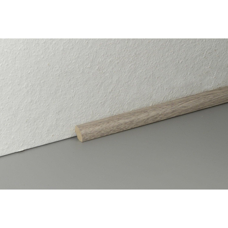 quart de rond sol stratifi d cor n 50 cm x x mm leroy merlin. Black Bedroom Furniture Sets. Home Design Ideas