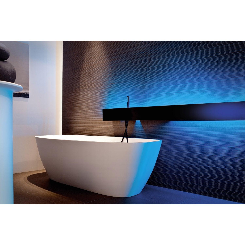 kit ruban led salle de bains 5m multicolore ip44 stripled eglo leroy merlin. Black Bedroom Furniture Sets. Home Design Ideas