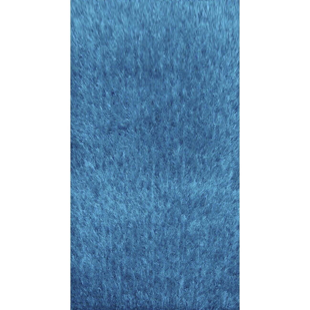 tapis turquoise shaggy lilou x cm leroy merlin. Black Bedroom Furniture Sets. Home Design Ideas