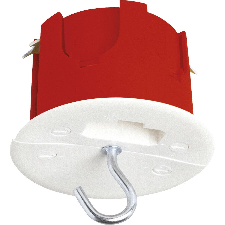 Bo te d 39 encastrement dcl pour plafond plaque de pl tre 1 for Cache lustre au plafond