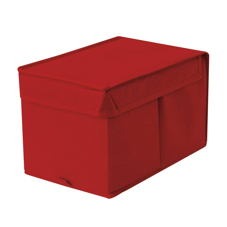 Bo te de rangement spaceo rouge x x for Rangement roue garage