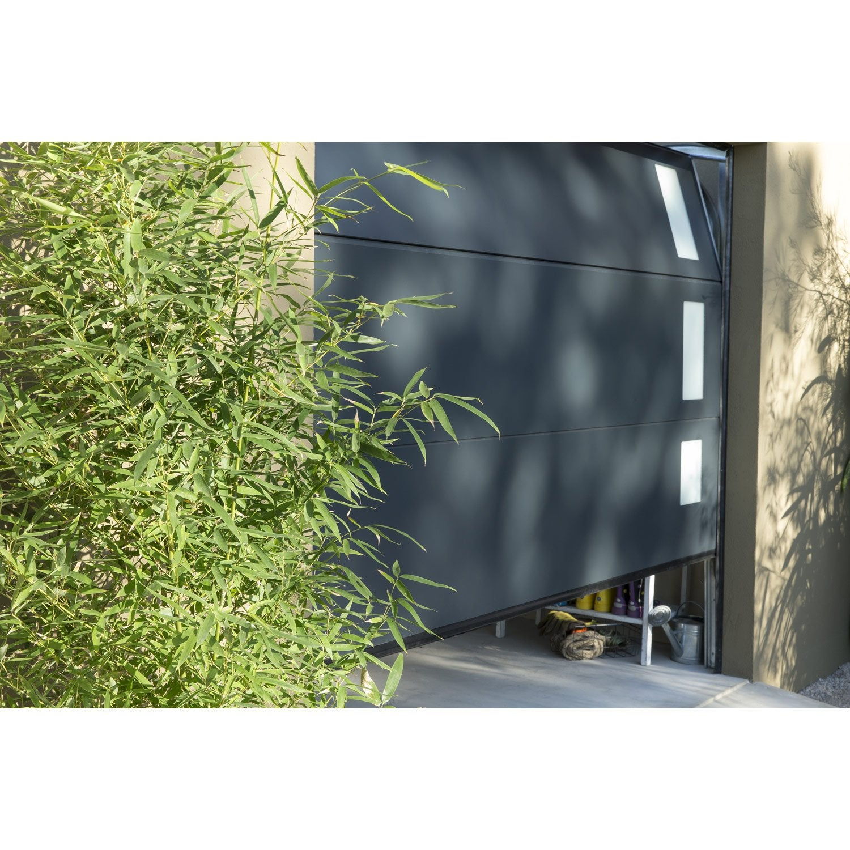 porte de garage sectionnelle austin artens x cm leroy merlin. Black Bedroom Furniture Sets. Home Design Ideas