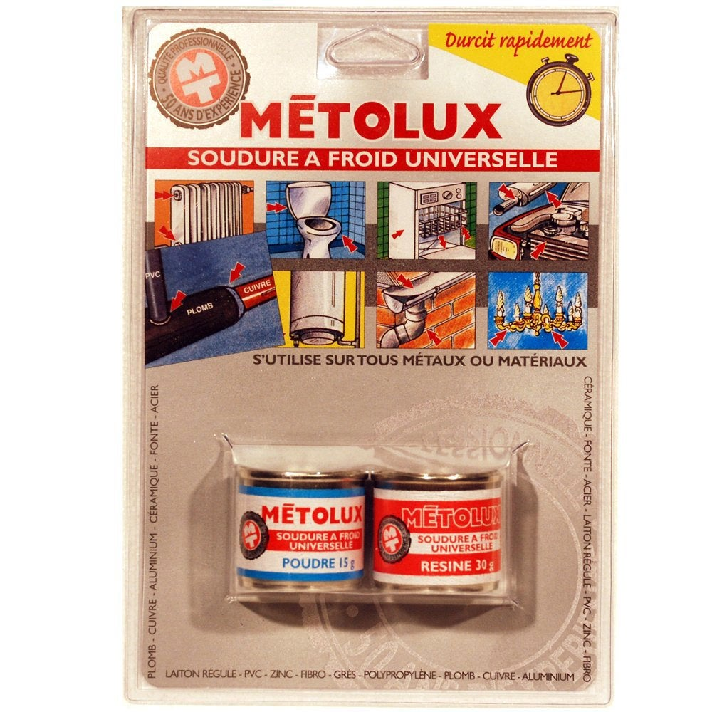 soudure froid multiusage metolux leroy merlin. Black Bedroom Furniture Sets. Home Design Ideas