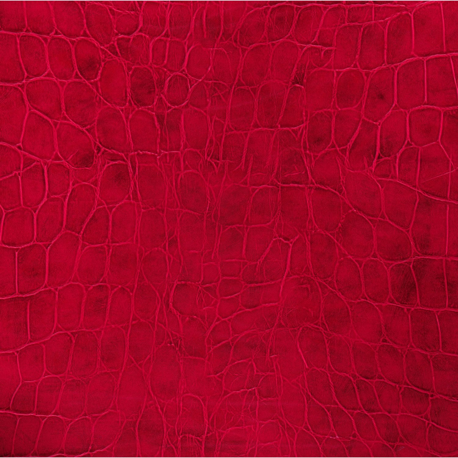 Rev tement adh sif croco rouge 2 m x m leroy merlin for Carrelage adhesif mural leroy merlin