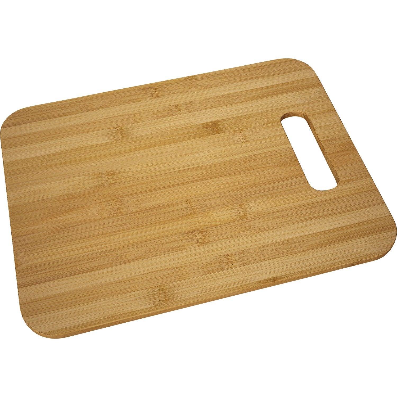 Planche d couper en bambou slim leroy merlin for Planche en bois de cuisine