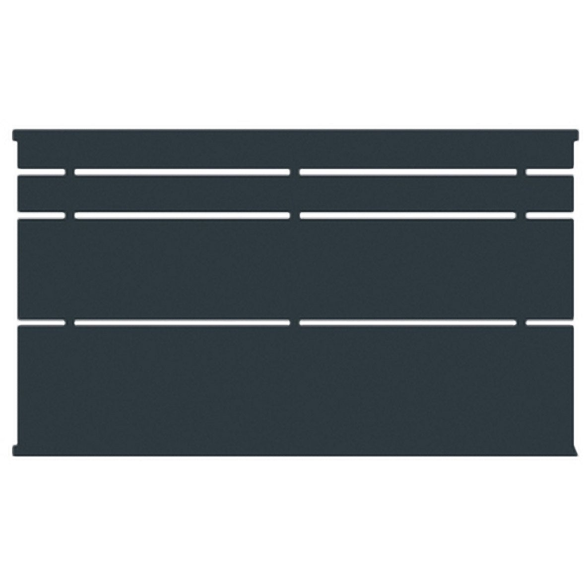 cl ture acier himalia appr t gris peindre x cm leroy merlin. Black Bedroom Furniture Sets. Home Design Ideas