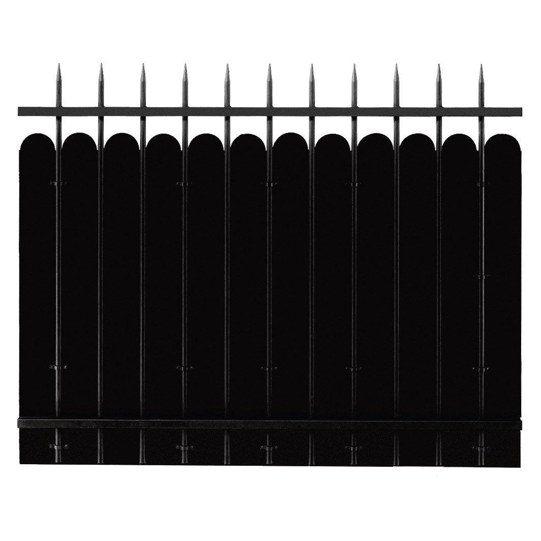 cl ture acier katana appr t noir peindre x cm leroy merlin. Black Bedroom Furniture Sets. Home Design Ideas