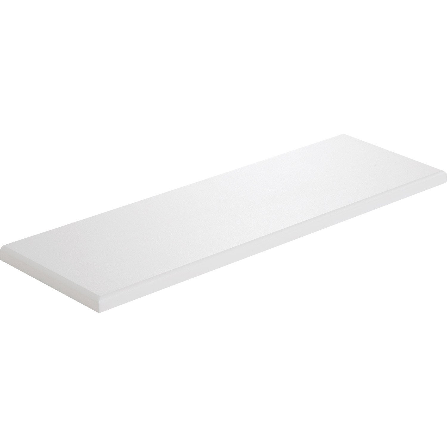 Tablette radiateur blanc l 60 x p 20 cm mm leroy - Tablette verre leroy merlin ...